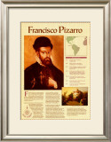 Great Explorers - Francisco Pizarro Prints