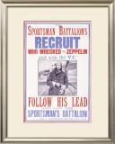 Sportsman's Battalion Framed Giclee Print