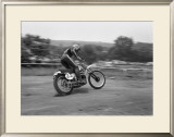 High Speed Sweeper Framed Giclee Print by Charlie Morey
