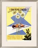 Italian Grand Prix, 1960 Framed Giclee Print