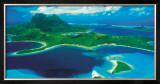 Bora-Bora Poster by Jim Zuckerman