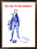 Tell That to the Marines!, 1917 Framed Giclee Print