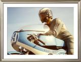 Italjet GP Mototcycle Framed Giclee Print by Giovanni Perrone