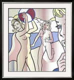 Nudes with Beach Ball Posters by Roy Lichtenstein