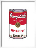 Campbell's Soup I: Pepper Pot, c.1968 Posters by Andy Warhol