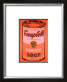 Campbell's Soup Can, c.1965 (Orange) Prints by Andy Warhol