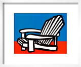 Adirondack Chair Print by Tom Slaughter