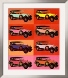 Mercedes Type 400, 1925 Art by Andy Warhol