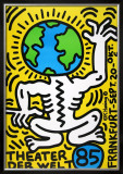 Theater Der Welt - Haring Vert Art by Keith Haring