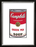 Campbell's Soup I: Green Pea, c.1968 Art by Andy Warhol