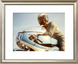 Italjet GP Mototcycle Framed Giclee Print by Giovanni Perrone