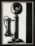 Telephone, c.1961 Poster by Andy Warhol