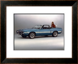1969 Shelby GT 500 Framed Giclee Print