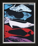 Diamond Dust Shoes, c.1980-81 (Parallel) Posters by Andy Warhol