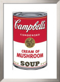 Campbell's Soup I: Cream of Mushroom, c.1968 Poster by Andy Warhol