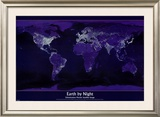 Earth by Night Posters