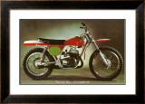 Bultaco Pursang MK4 Motorcycle Framed Giclee Print