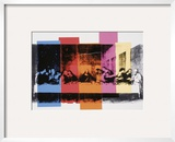 Detail of the Last Supper, c.1986 Poster by Andy Warhol