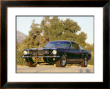 1966 Shelby GT350H Framed Giclee Print by David Newhardt