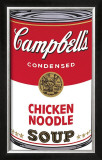 Campbell's Soup I: Chicken Noodle, c.1968 Posters by Andy Warhol