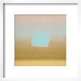 Sunset, c.1972 (gold, blue) Print by Andy Warhol