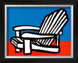 Adirondack Chair Prints by Tom Slaughter