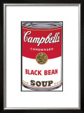 Campbell's Soup I: Black Bean, c.1968 Art by Andy Warhol
