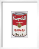 Campbell's Soup I: Vegetable, c.1968 Print by Andy Warhol