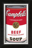 Campbell's Soup I: Beef, c.1968 Print by Andy Warhol
