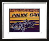 Police Car, c.1983 Print by Andy Warhol