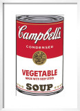 Campbell's Soup I: Vegetable, c.1968 Prints by Andy Warhol