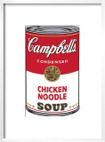 Campbell's Soup I: Chicken Noodle, c.1968 Art by Andy Warhol