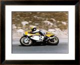 Roberts Yamaha Laguna Seca GP Framed Giclee Print by Jerry Smith