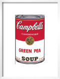 Campbell's Soup I: Green Pea, c.1968 Print by Andy Warhol
