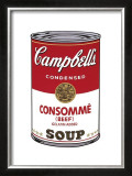 Campbell's Soup I: Consomme, c.1968 Posters by Andy Warhol