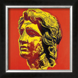 Alexander the Great, c.1982 (Yellow Face) Art by Andy Warhol