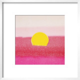 Sunset, c.1972 (hot pink, pink, yellow) Prints by Andy Warhol