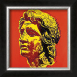 Alexander the Great, c.1982 (Yellow Face) Poster by Andy Warhol