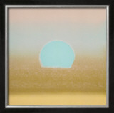 Sunset, c.1972 (gold, blue) Posters by Andy Warhol