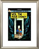 Vol 714 pour Sydney, c.1968 Prints by  Hergé (Georges Rémi)
