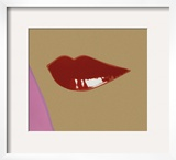 Page from Lips Book, c.1975 Posters by Andy Warhol