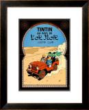 Tintin au Pays de l'Or Noir, c.1950 Poster by  Hergé (Georges Rémi)