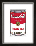 Campbell's Soup I: Green Pea, c.1968 Prints by Andy Warhol