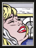 Shipboard Girl Posters by Roy Lichtenstein