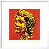 Alexander the Great, c.1982 (Yellow Face) Posters by Andy Warhol