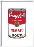 Campbell's Soup I: Tomato, c.1968 Posters by Andy Warhol