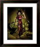 Opium Den Sailor Girl Framed Giclee Print by Richie Fahey