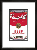 Campbell's Soup I: Beef, c.1968 Prints by Andy Warhol