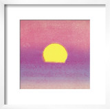 Sunset, c.1972 (pink, purple, yellow) Prints by Andy Warhol