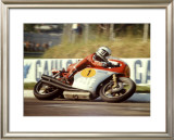 MV Agusta GP Motorcycle Framed Giclee Print